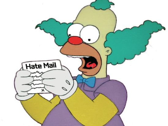 0000 hate-mail