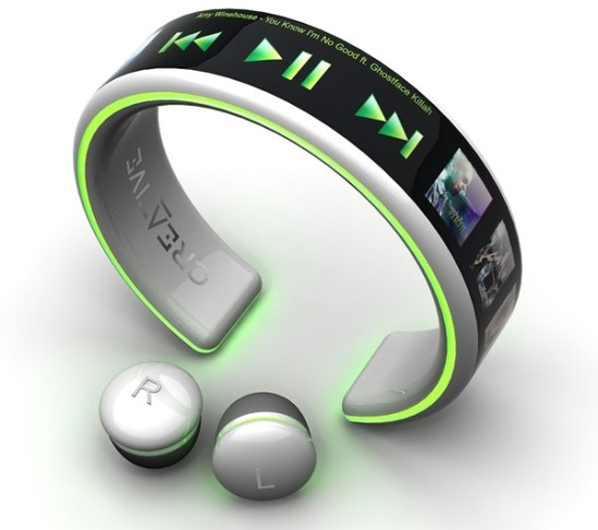 MP3 Player Creative01