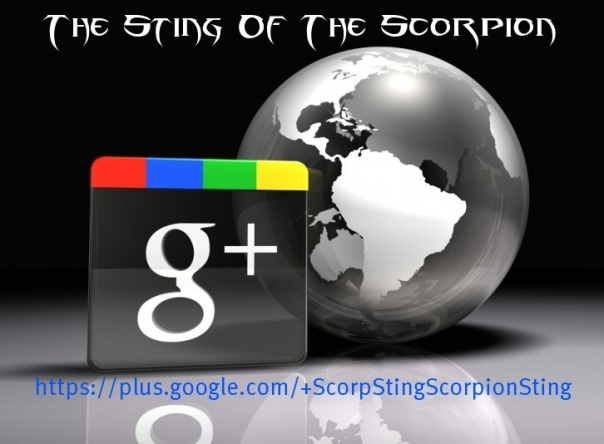 Scorpion Sting @ Google+