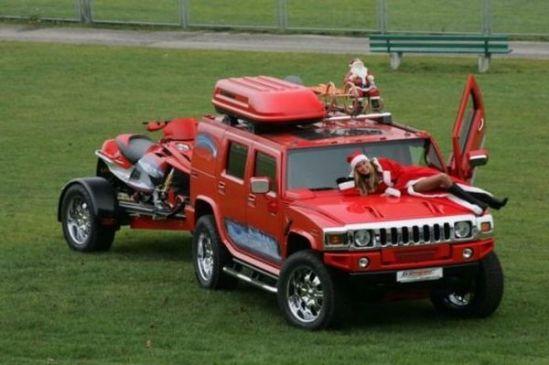 car-humor-funny-joke-santa-claus-sleigh-elves-christmas-hummer-2