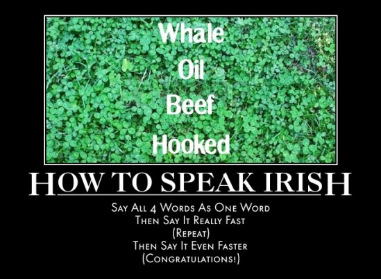 how to irish