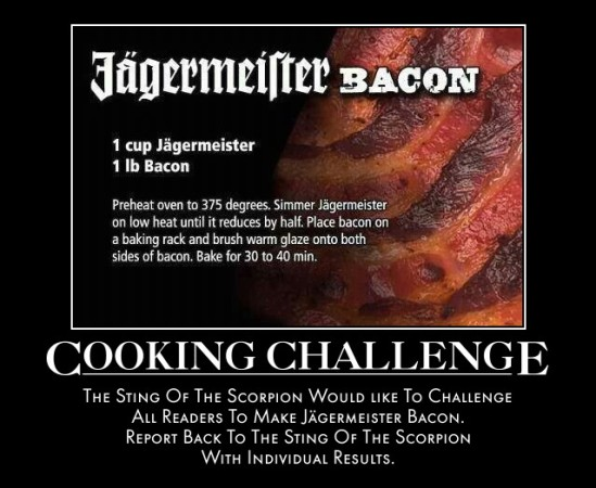Jägermeister Bacon Recipe